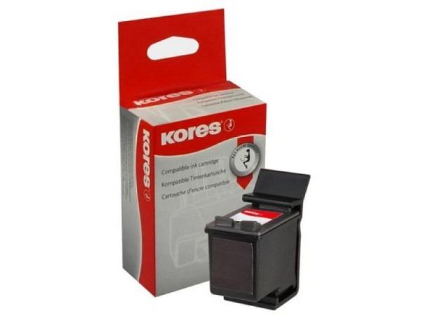 Druckerpatrone Kores Tintenpatrone 27 schwarz C8727AEKOR zu HP DeskJet 3420 21ml