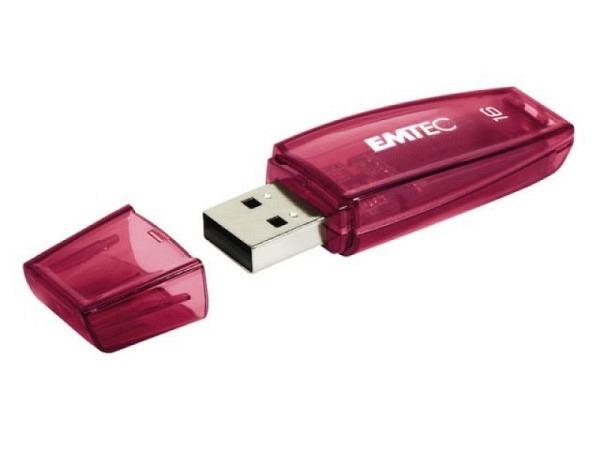 Datenträger Emtec USB Stick C410 16GB rot