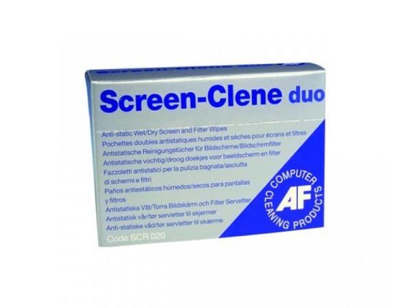 Bildschirmreinigungstücher AF Duo Screen Clene 20Stk.