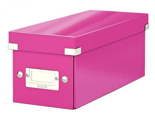 CD Ablage Box Leitz Wow Click & Store pink
