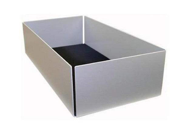 CD Ablage Softcover Aluminium für 80 CDs oder DVDs