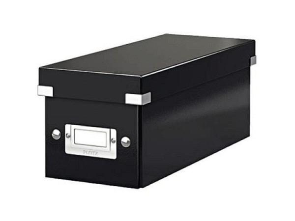 CD Ablage Box Leitz Wow Click & Store schwarz