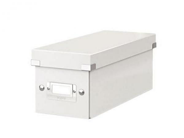 CD Ablage Box Leitz Wow Click & Store weiss