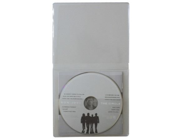 CD Hülle Softcover 40Stk für 1 CD transparent und flexibel