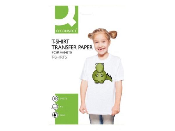 Folie Connect T-Shirtfolie für helle Stoffe 10Stück KF01430