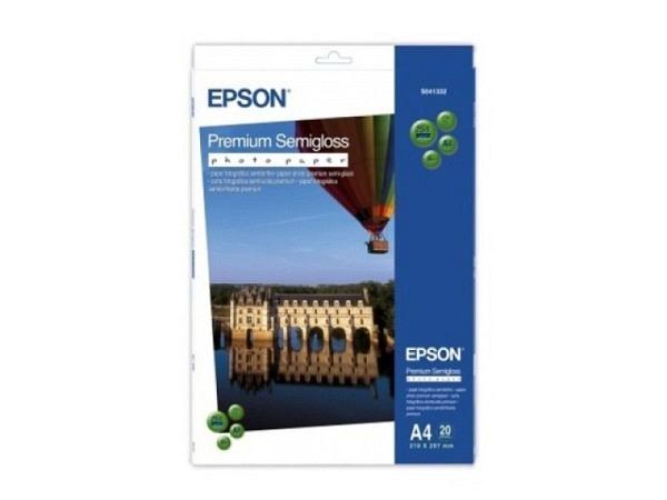 Papier Epson Fotopapier Semigloss A4 20 Blatt