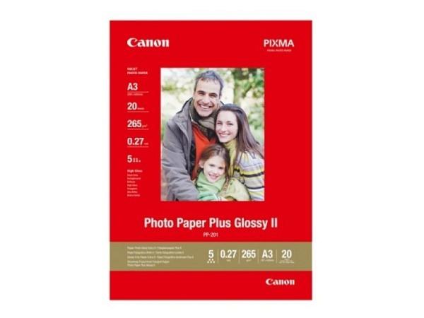 Papier Canon Fotopapier Plus glossy II A3
