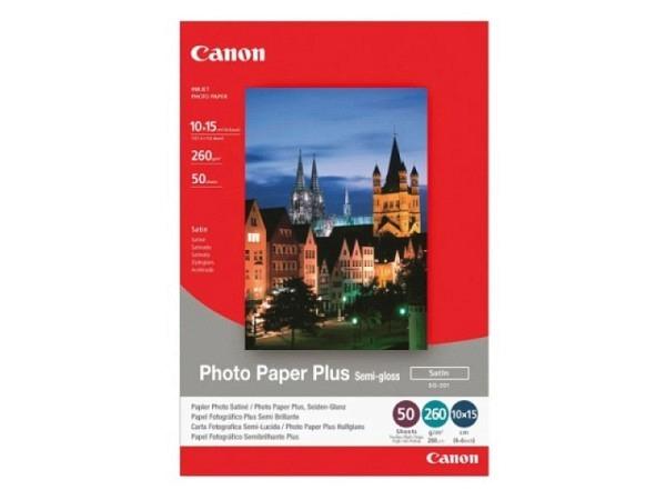 Papier Canon Fotopapier Plus semigloss 10x15cm