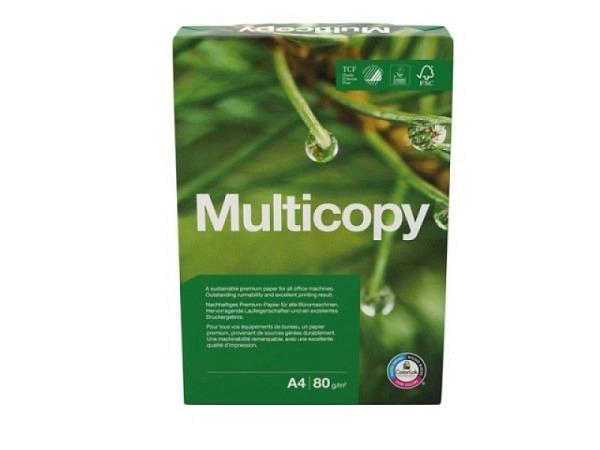Papier Multi Copy hochweiss 80g/qm A4 500 Blatt