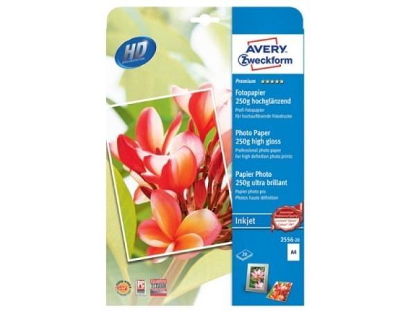Papier Zweckform Fotopapier Premium A4 250gr glänzend