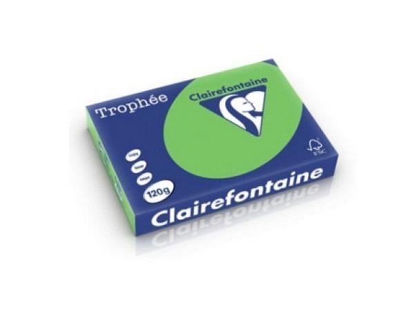 Papier Clairefontaine Trophee 1293 A4 120g/qm, maigrün