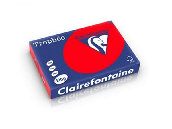 Papier Clairefontaine Trophee 1227 A4 120g/qm, korallenrot