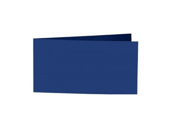 Karten Artoz Samsa A6/5 indigo 42x10,5cm langdoppelt, 270g/qm samtig-satinierte Oberfläche, die einzelnen Farben sind sehr gut kombinierbar, bedruckbar mit Laser, Kopierer, Inkjet