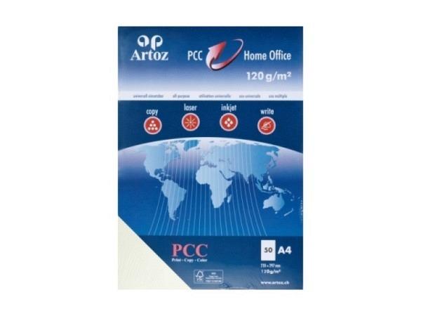Papier Artoz PCC A4 120g/qm 50Blatt ivory