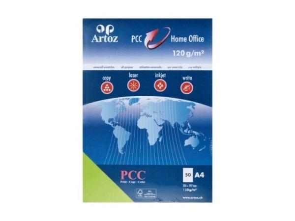 Papier Artoz PCC A4 120g/qm 50Blatt birkengrün