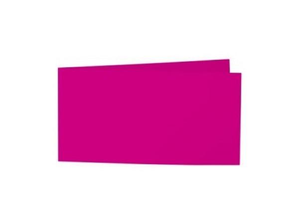 Karten Artoz Samsa A6/5 pink 42x10,5cm langdoppelt, 270g/qm samtig-satinierte Oberfläche, die einzelnen Farben sind sehr gut kombinierbar, bedruckbar mit Laser, Kopierer, Inkjet