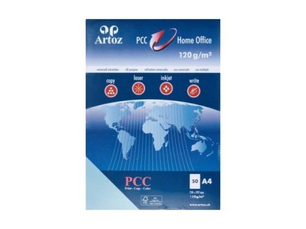 Papier Artoz PCC A4 120g/qm 50Blatt pastellblau