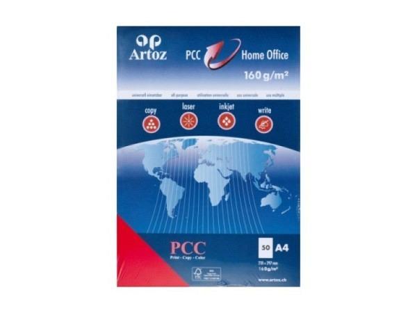 Papier Artoz PCC A4 120g/qm 50Blatt rot
