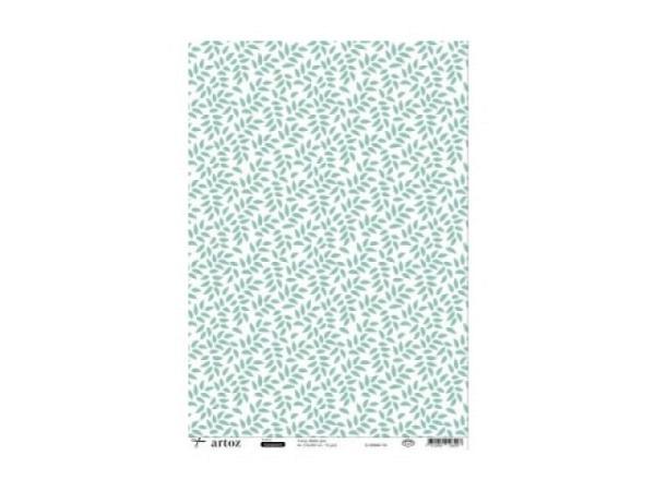 Transparentpapier Artoz Creamotion 21x30 Fische Kerzen gelb