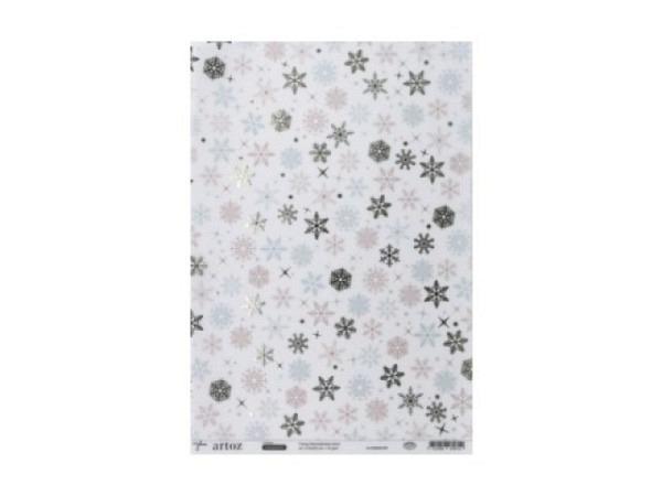 Transparentpapier Artoz Creamotion 21x30cm Bubbles grün