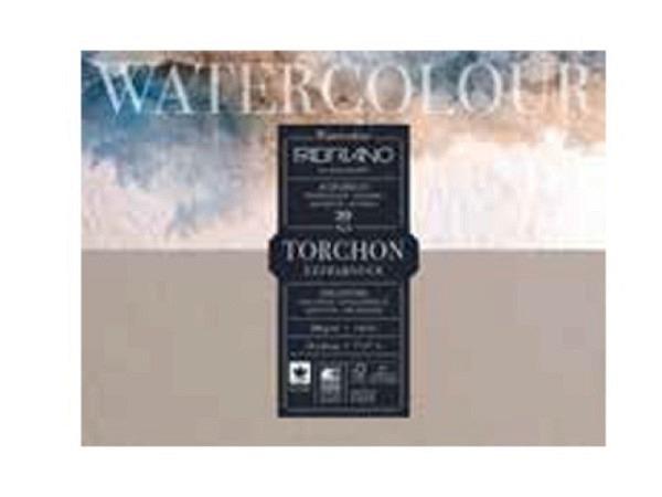 Aquarellblock Fabriano Watercolour Aquarello Torchon 30,5x45,5cm