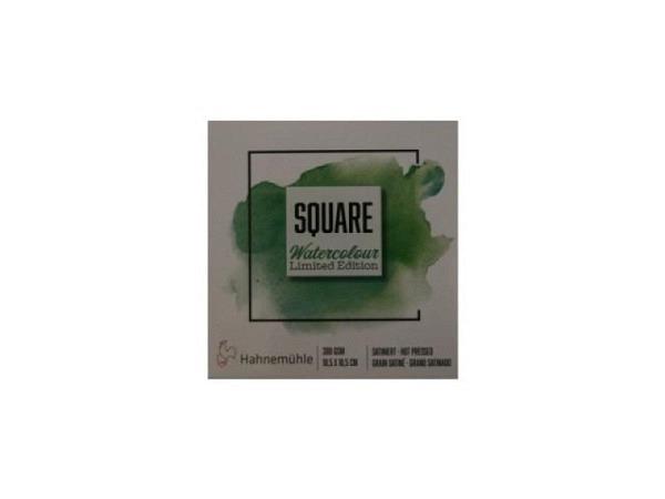 Aquarellblock Hahnemühle Square Watercolour 300g/qm 10,5x10,5cm
