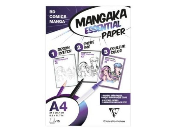 Zeichenblock Daler-Rowney Layout Paper A4 45g/qm