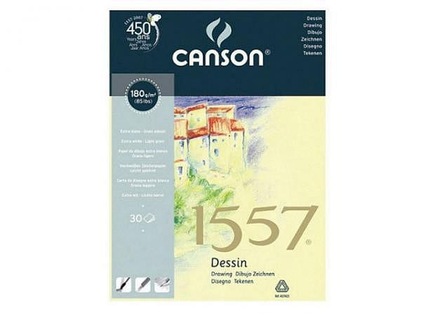 Zeichenblock Canson 1557 180g/qm geleimt A4