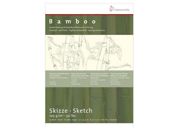 Zeichenblock Hahnemühle Bamboo A4 30Blatt 105g/qm