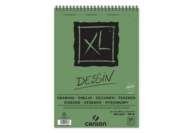 Zeichenblock Canson XL Dessin A4 50 Blatt