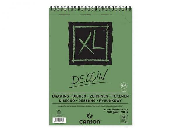 Zeichenblock Canson XL Dessin A3 50 Blatt