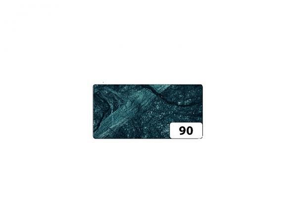 Japanpapier Faserseide Folia schwarz 47x64cm, 25g/qm gefalzt