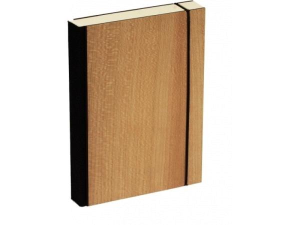 Skizzenbuch Bindewerk Wood Nussbaum 12x16,5cm 144 Bl. 90g/qm