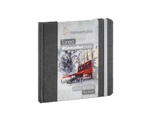 Skizzenbuch Hahnemühle Watercolour Toned Book quadratisch 14x14cm