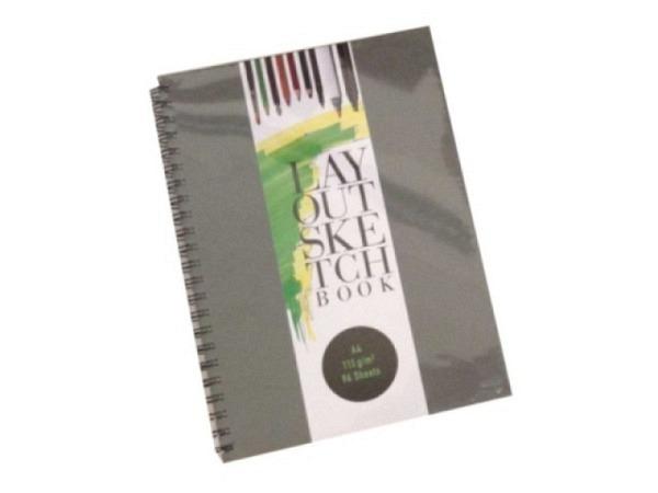 Skizzenbuch Biella Kompagnon Casina schwarz, 9,5x12,8cm