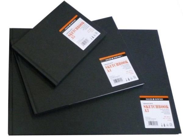 Skizzenbuch Daler-Rowney Sketchbook A3quer 46 Blatt 130g/qm