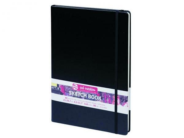 Skizzenbuch Talens Art Creation 21x29,7cm A4 schwarz.
