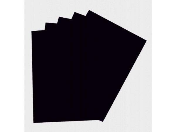 Moosgummi Folia 2mm dick 20x29cm schwarz, aus EVA