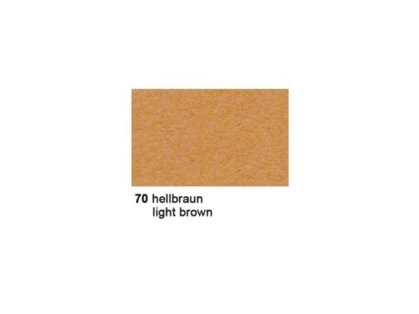 Tonzeichenpapier Ursus A4 130g/qm hellbraun 100 Blatt