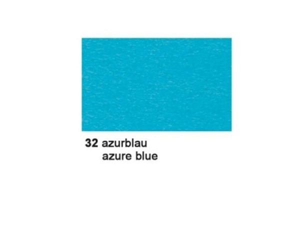 Tonzeichenpapier Ursus A4 130g/qm azurblau 100 Blatt