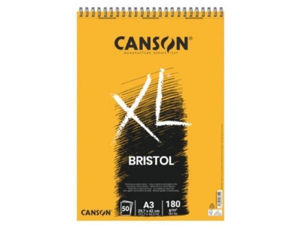 Bristolblock Canson Bristol XL A3 180g/qm