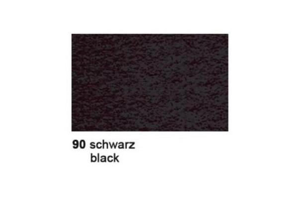 Fotokarton 50x70cm schwarz, 300gm aus 100% Altpapier
