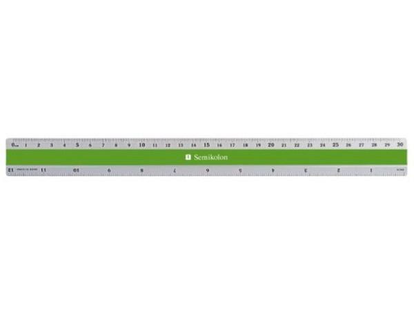 Massstab Akryl GS 40 Akryl Präzisionsgefräst 50cm