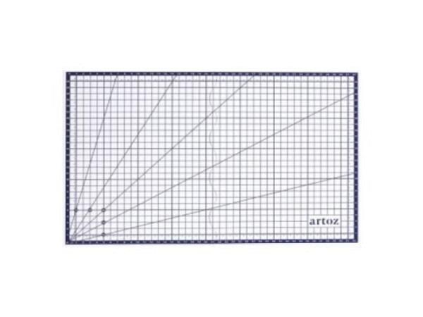 Schneidmatte Artoz transparent 45x30cm faltbar