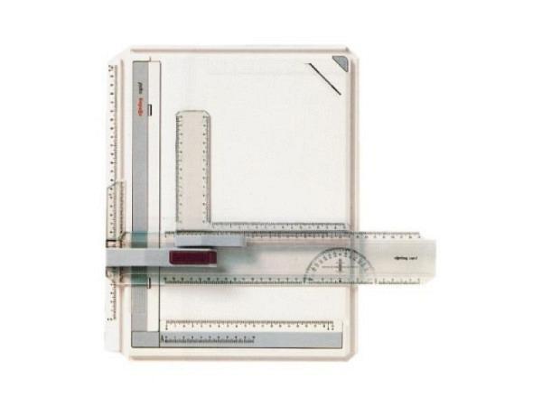 Zeichenplatte Rotring Rapid A4, Kunststoff hellgrau