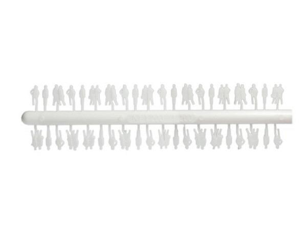 Figuren 1:200 weiss 40er Set Silhouetten matt