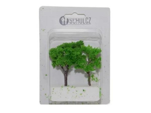 Modellbaum Schulcz Laubbäume 2 Stück, 60mm und 80mm
