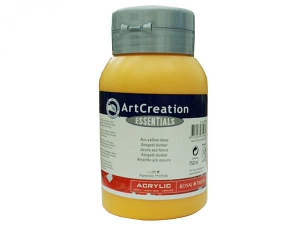 Akryl Talens ArtCreation Essentials 750ml azogelb dunkel 270