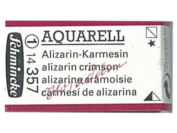 Aquarell Schmincke Horadam ganzer Napf alizarin-karmesin 357