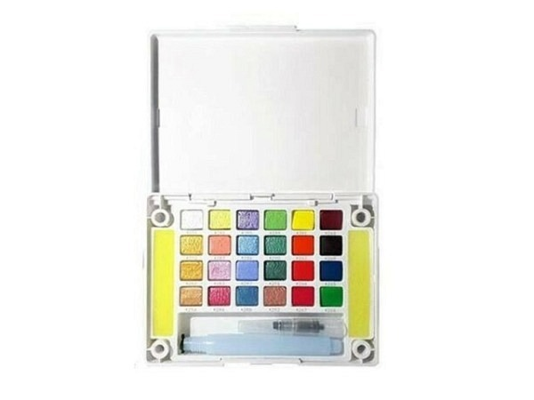 Aquarell Sakura Koi Water Colors Creative Art Colours 24er Set